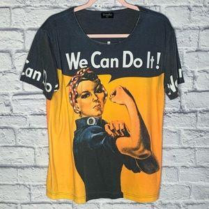 """Breeke """"We Can Do It"""" T-Shirt"""